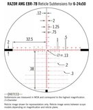 Vortex Richtkijker Razor HD AMG 6-24x50 EBR-7B FFP MOA_
