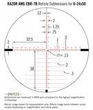 Vortex Richtkijker Razor HD AMG 6-24x50 EBR-7B FFP MRAD_