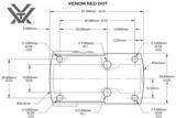 Vortex Red Dot Richtkijker Venom 3 MOA_