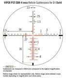 Vortex Viper PST Gen II 3-15x44 SFP Richtkijker, EBR-4 MOA_