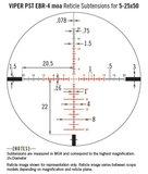 Vortex Viper PST Gen II 5-25x50 SFP Richtkijker, EBR-4 MOA_