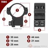 Sportsmatch Tikka T3 15mm dovetail 30mm Montage T084 medium (25mm)_