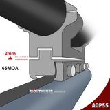 Sportsmatch 11mm dovetail 25,4mm Montage AOP55 hoog verstelbaar (37mm)_