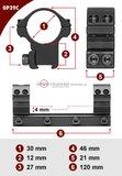 Sportsmatch 11mm dovetail 30mm 1-delige Montage OP39C medium (27mm)_