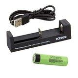 Xtar MC1 Oplader voor 18650 batterij_