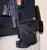 UM Tactical UM3 Paddle Holster Linkshandig, Universeel voor pistolen_