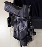 UM Tactical UM3 Belt Loop Holster Rechtshandig, Universeel voor pistolen_