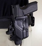 UM Tactical UM3 Belt Loop Holster Linkshandig, Universeel voor pistolen_