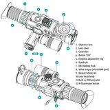 Yukon Sightline N475 S Digitale Nachtrichtkijker 6-24x_