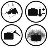 Explorer Cases Koffer voor Pard NV007 voorzetkijker met adapter 246x215x112 mm_