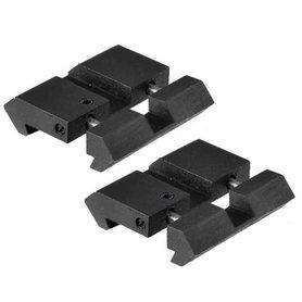 UTG Dovetail naar Picatinny Rail Adapter - MNT-DT2PW01