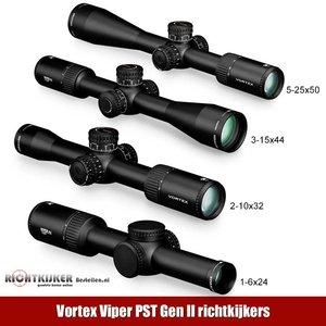 Nieuw: Vortex Viper PST Gen II richtkijkers - BESTEL DIRECT!