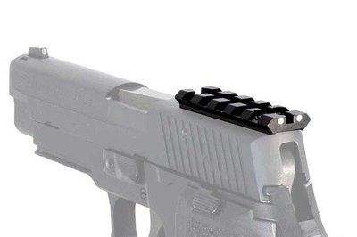 Sight mount Red dot Picatinny montage Sig Sauer Pistool