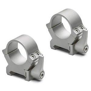 Leupold QRW2 Montageringen 25,4mm laag (19,5mm) mat zilver