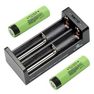 Xtar MC2 Oplader voor 2x 18650 batterijen