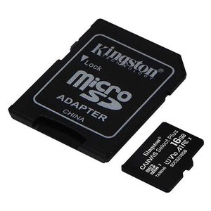 Kingston Pard NV SD-Card 16GB speed 10 voor nachtkijkers en warmtekijkers